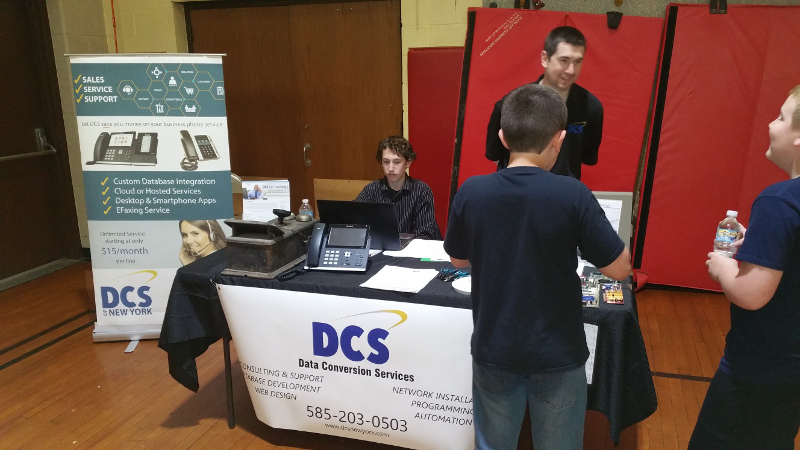 DCS at Red jacket Career Fair